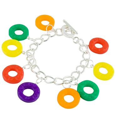 Fruity Polo Charm Bracelet from Bits and Bows