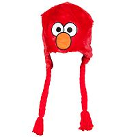 Furry Sesame Street Elmo Laplander Hat