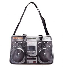 Retro Ghettoblaster Weekend Bag [View details]