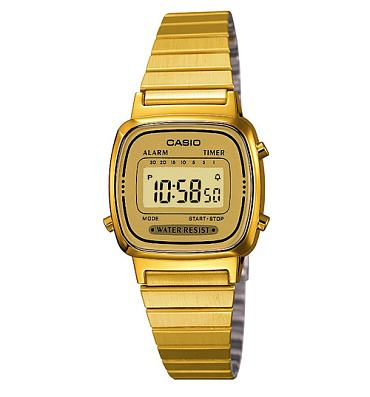 Gold Slimline Classic Watch from Casio