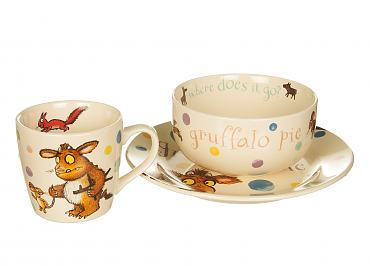 Gruffalo's Child 3 Piece Stoneware Dinner Set