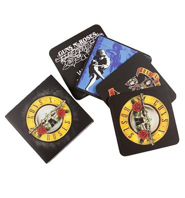 Guns N Roses Set Of 4 Coasters