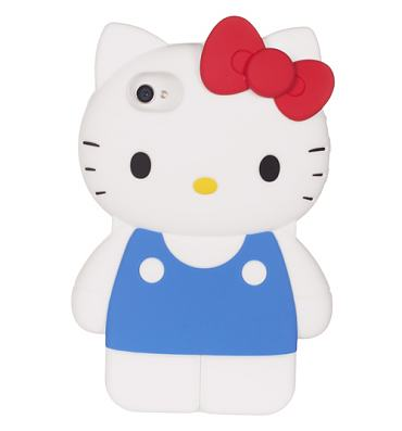 Hello Kitty Body Silicone iPhone 4 Case from Loungefly