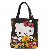 Hello Kitty Burger Tote from Loungefly