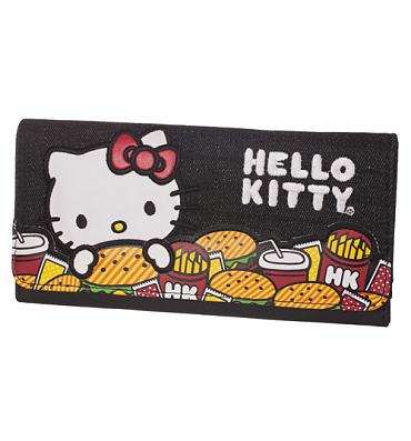 Hello Kitty Burger Wallet from Loungefly