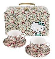 Hello Kitty Liberty Tea Cup Set In Case