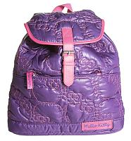 Hello Kitty Purple Padded Rucksack