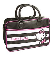 Hello Kitty Retro Stripes Gym Bag