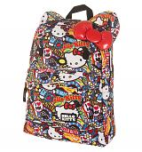 Hello Kitty Sticker Print Backpack from Loungefly