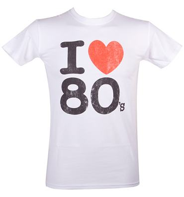 Men's I Heart The 80's T-Shirt