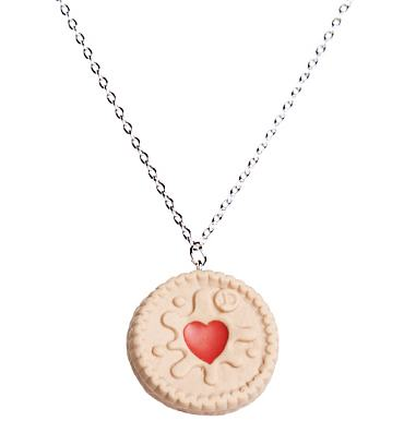 Jammy Dodger Necklace from Bits and Bows