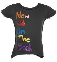 Kids New Kid On The Block Charcoal T-Shirt from Amplified Kids