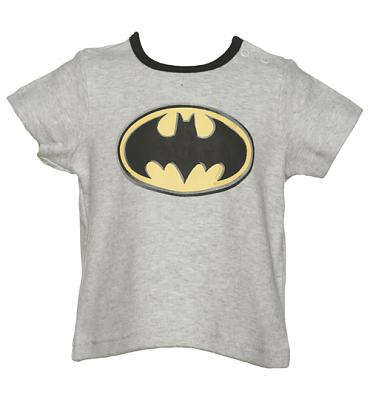 Kids Batman Logo Ringer T-Shirt