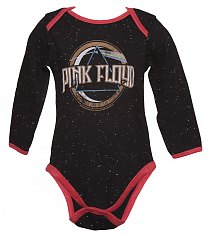 Kids Black Speckle On The Run Pink Floyd Babygrow from Amplified Kids [View details]