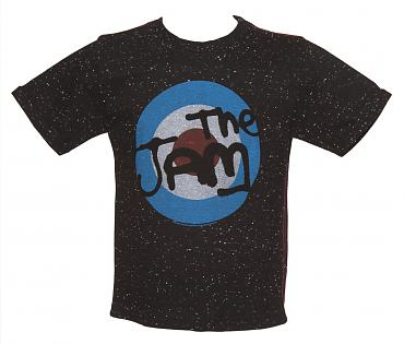 Kids Black Speckle The Jam Target T-Shirt from Amplified Kids