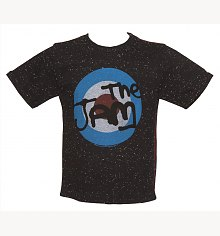 Kids Black Speckle The Jam Target T-Shirt from Amplified Kids [View details]