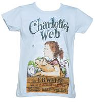 Kids Charlotte's Web T-Shirt from Out Of Print