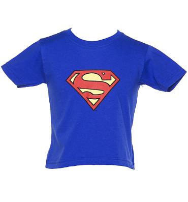 Kids Classic Superman Logo T-Shirt from Urban Species