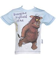 Kids Gruffalo Everyone Is Afraid Of Me T-Shirt from Fabric Flavours