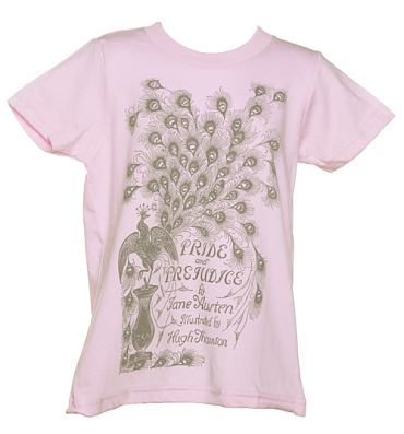 Kids Jane Austen Pride And Prejudice T-Shirt from Out Of Print