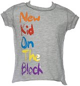 Kids New Kid On The Block Painted Lyric T-Shirt from Amplified Kids