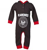 Kids Ramones Romper Suit from Amplified Kids