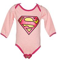 Kids Supergirl Babygrow from Fabric Flavours
