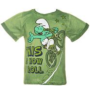Kids This Is How I Roll Smurf T-Shirt from Fabric Flavours