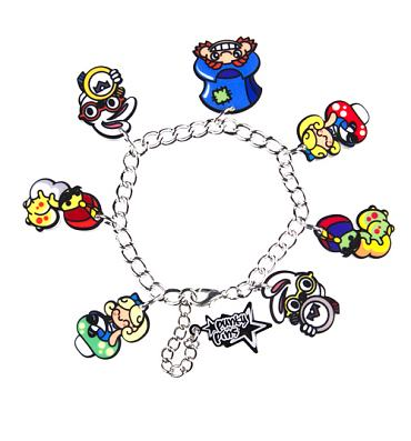 Kitsch Alice And Friends Charm Bracelet from Punky Pins