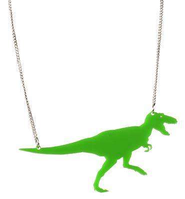 Kitsch Dino Necklace from Chelsea Doll
