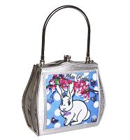 Kitsch White Rabbit Frame Handbag from Helen Rochfort