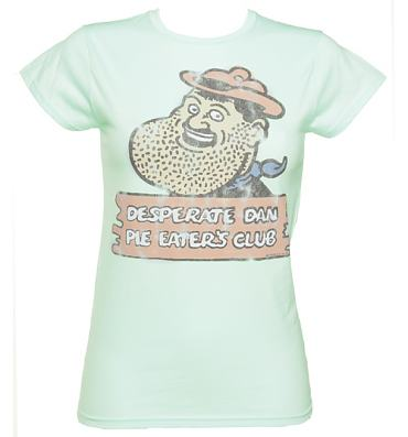 Ladies Desperate Dan Pie Eaters Club T-Shirt