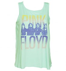 Ladies Aqua Pink Floyd Open Back Swing Vest from Junk Food [View details]