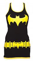 Ladies Black Batgirl Vest Dress