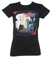 Ladies Black Casper The Friendly Ghost T-Shirt from Urban Species