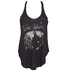Ladies Black The Velvet Underground Racer Back Vest from Junk Food [View details]