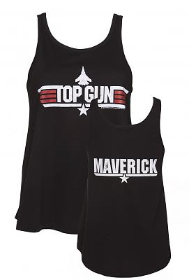 Ladies Black Top Gun Maverick Swing Vest