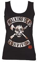Ladies Black Walking Dead Survivor Vest
