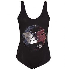 Ladies Black ZZ Top Body Suit from Amplified Vintage [View details]