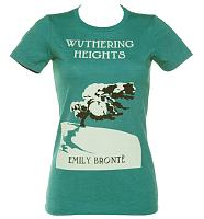 Ladies Emily Bronte Wuthering Heights Novel T-Shirt from Out Of Print