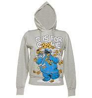 Ladies C Is For Cookies Sesame Street Hoodie