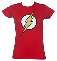 Ladies Classic Flash Logo T-Shirt from Urban Species