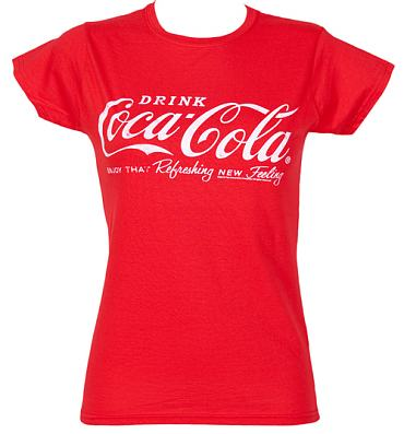 Ladies Coca-Cola Logo T-Shirt