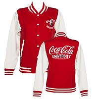 Ladies Coca-Cola University Varsity Jacket