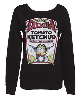 Ladies Count Duckula Ketchup Sweater