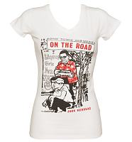 Ladies On The Road By Jack Kerouac Cream T-Shirt from Out Of Print