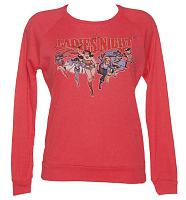 Ladies DC Comics Ladies Night Crew Neck Long Sleeve T-Shirt from Junk Food
