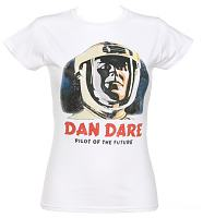 Ladies Dan Dare Pilot Of The Future T-Shirt