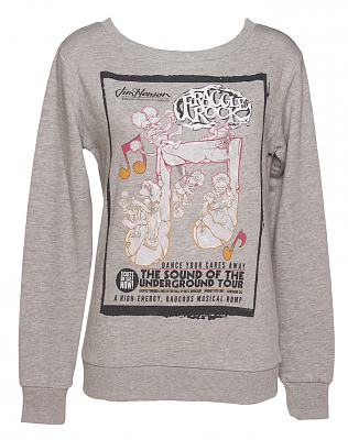 Ladies Fraggle Rock Dance Your Cares Away Pullover