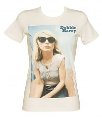 Ladies Debbie Harry Cadet Blondie T-Shirt from Goodie Two Sleeves [View details]